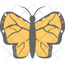 Butterfly Monarch Fly Icon