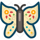 Butterfly Garden Insect Icon