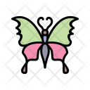 Butterfly Animal Butter Icon