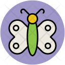 Butterfly Violet Insect Icon
