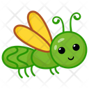 Butterfly Caterpillar Icon
