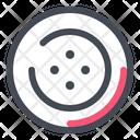 Button Tailor Seamstress Icon