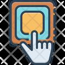Button Click Play Icon
