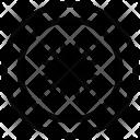Button Dress Hole Icon