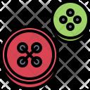 Button Clothes Hobby Icon