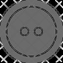 Button Cloth Button Sewing Icon