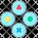 Button Arcade Game Icon
