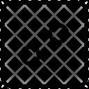 Button Dress Dressmaking Icon