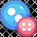 Button Clothe Button Button Sewing Icon