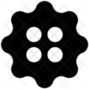 Button Fashion Sewing Icon