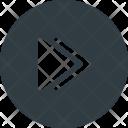 Button Interface Forward Icon