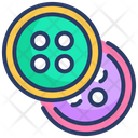 Buttons Clothes Clothing Icon