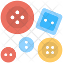 Buttons Craft Colorful Icon
