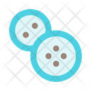 Sew Sewing Buttons Icon
