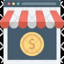 Buy Online Commerce Icon