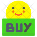 Buy Purchase Face Icon