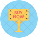 Buy Now Sign Icon