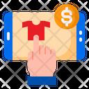 Mobilephone Ecommerce Shopping Icon