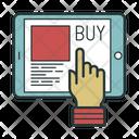 Online Store Buy Icon