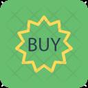 Buy Sticker Tag Icon