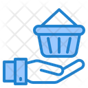 Shopping Hand Busket Icon