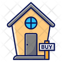 Buy A House Buy Home Icon