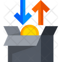 Buy And Sell Income Moneyflow Icon