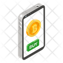 Buy Bitcoin Mobile Bitcoin Mobile Cryptocurrency Icon