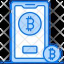 Buy Bitcoin Mobile Bitcoin Bitcoin Purchase Icon