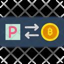 Buy Bitcoin Transfer Bitcoin To Paypal Exchange Bitcoin Icon