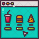 Food Online Order Icon