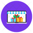 Online Store Online Shop Online Gift Shop Icon