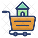 Buy Home House Purchasing House Shopping Icon