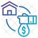 Buy Home Sell Icon