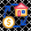 Sign Exchange Money Icon