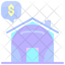 Buy Home Money Purchase Icon