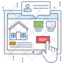 Buy House Estate Website Buy Property Icon