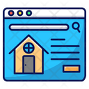 Buy House Online House Home Icon