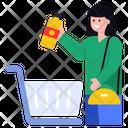 Beverage Buy Juice Bottle Shopping Icon