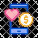 Money Dating App Icon