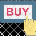 Buy Now Buy Online Ecommerce Icon