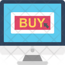 Buy Now Buy Online Online Shopping Icon