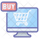 Buy Now Online Purchasing Ecommerce Icon