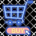 Buy Now Shoppig Cart Shopping Icon