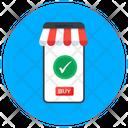 Buy Now Mobile Shop Mobile Shopping Icon