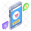 Buy Now Mobile Shopping Shopping App Icon