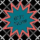 Buy now badge Icon