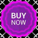 Buy now label Icon