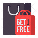 Mbuy One Get One Free Buy One Get One Free Shopping Icon