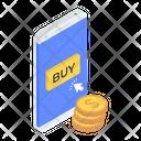 Buy Online Online Shopping Eshopping Icon